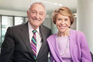 Sanford I. Weill and Joan Weill