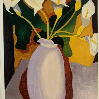 Note Card Calla-Lillies