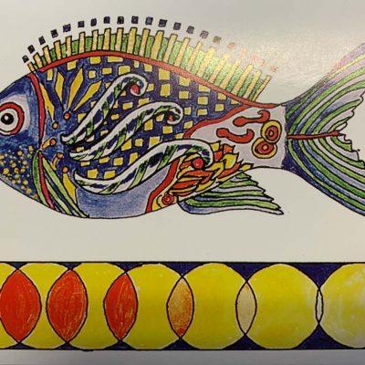 Note Card Fantasy Fish