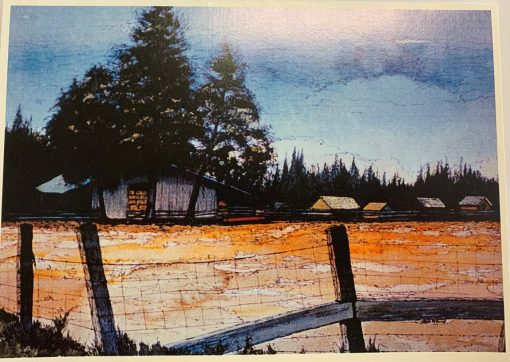 Note Card High Country