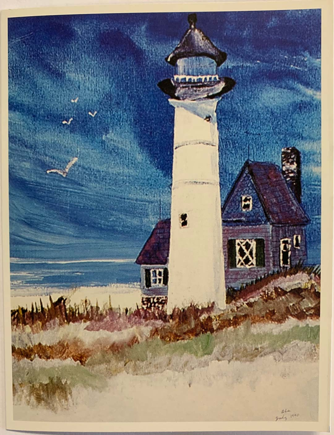 Note Card Lighthouse